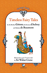 Front cover for Timeless Fairy Tales