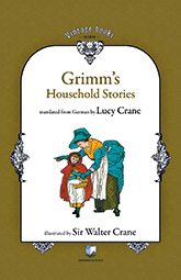 Front cover for Grimm's Household Stories